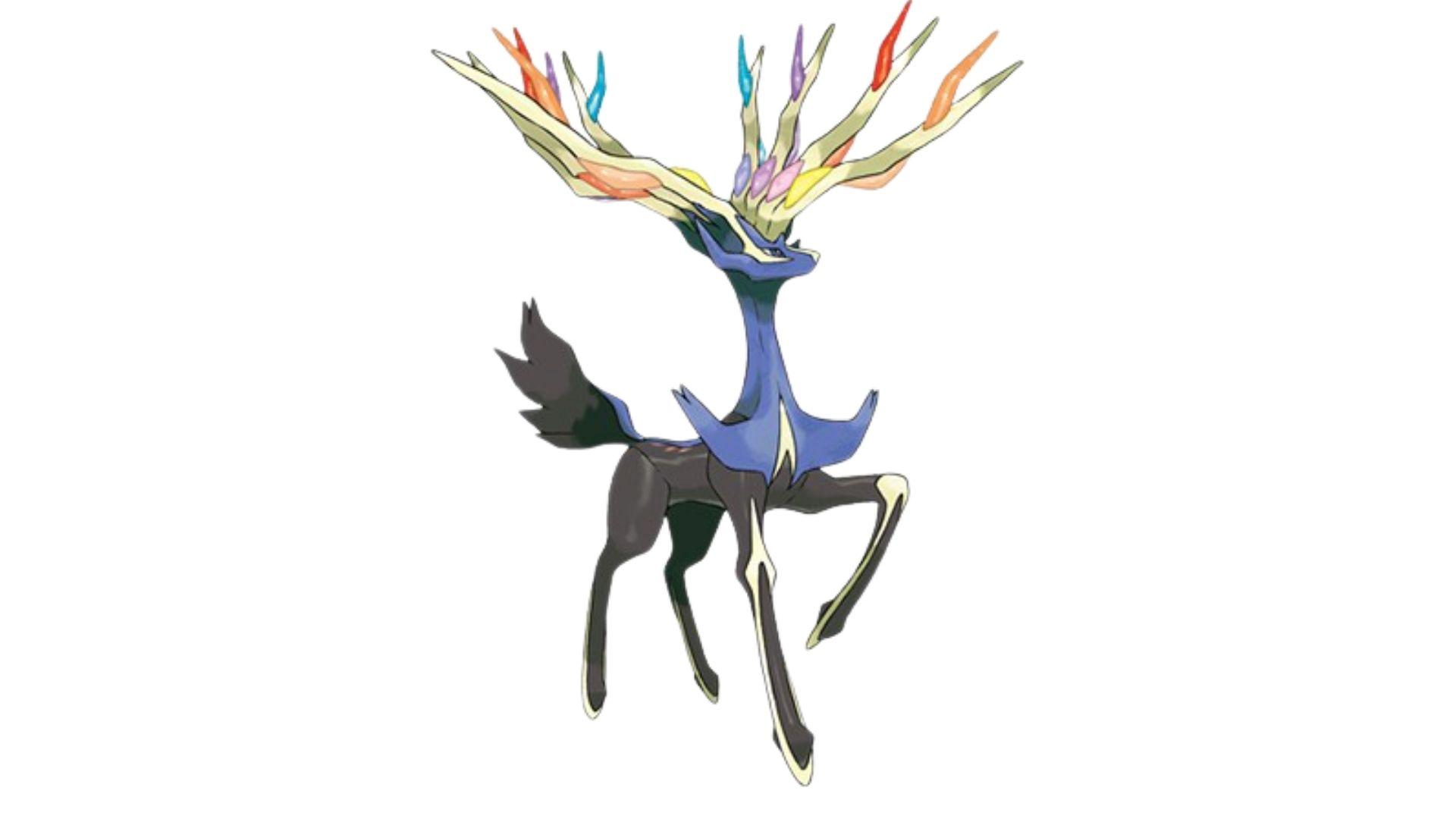 Xerneas é considerado um dos pokémons mais fortes e benevolentes do universo do game (Foto: Divulgação/Pokémon)