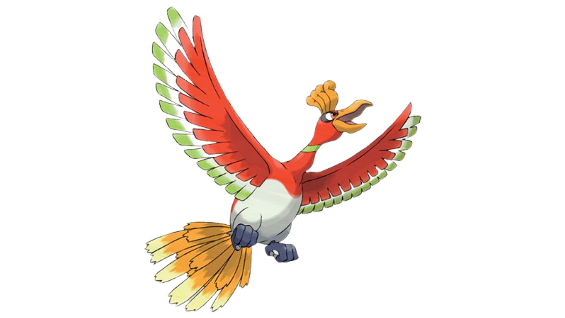 Ho-oh é considerado um pokémon mais forte e guardião dos céus (Foto: Divulgação/Pokémon)