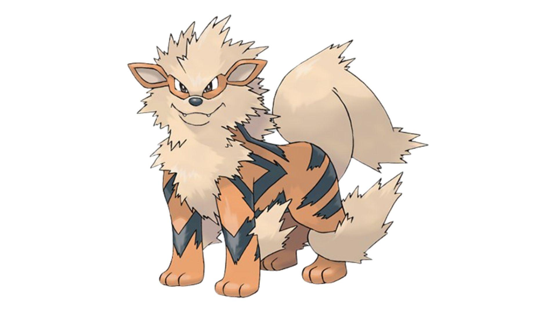 Quando se trata de ataque, o Arcanine é o pokémon mais forte de todos (Foto: Divulgação/Pokémon)