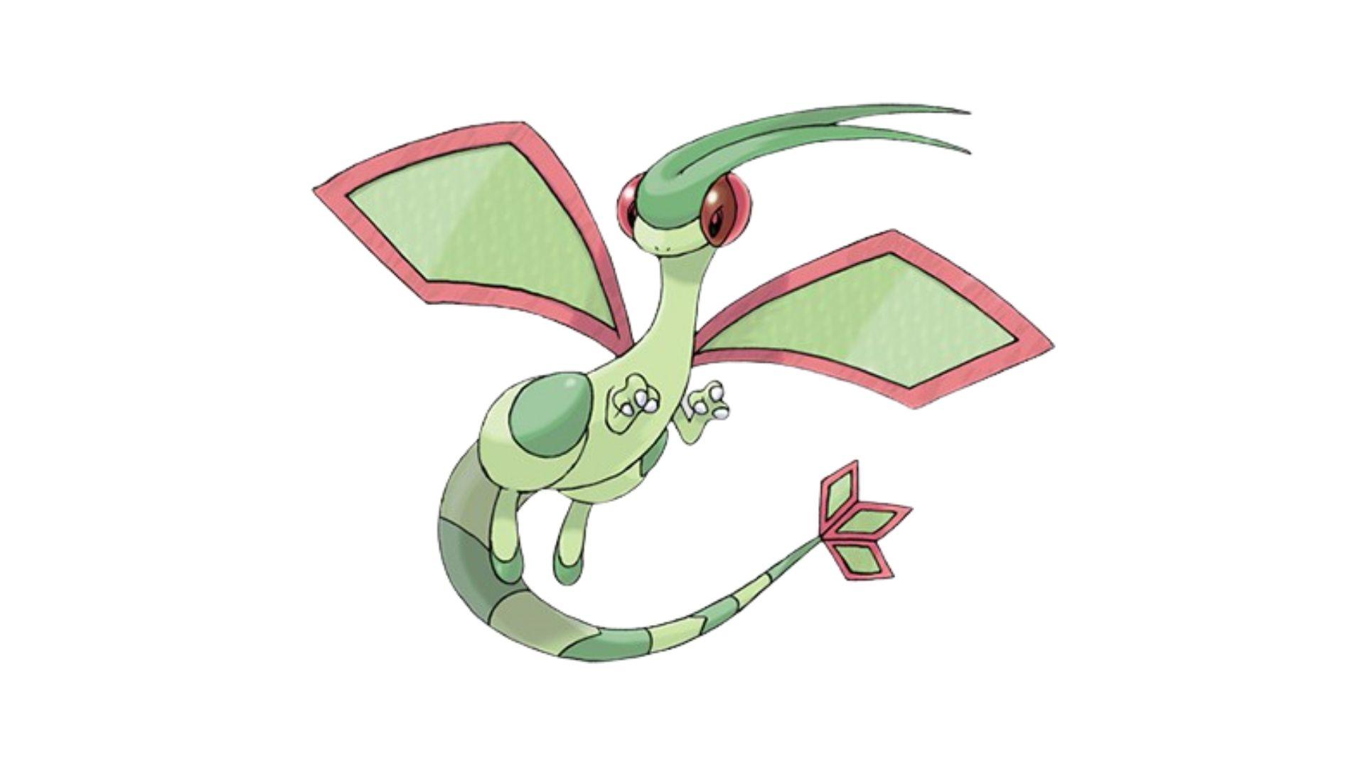 """Flygon é popularmente conhecido como """"o espírito elementar do deserto"""" (Foto: Divulgação/Pokémon)"""