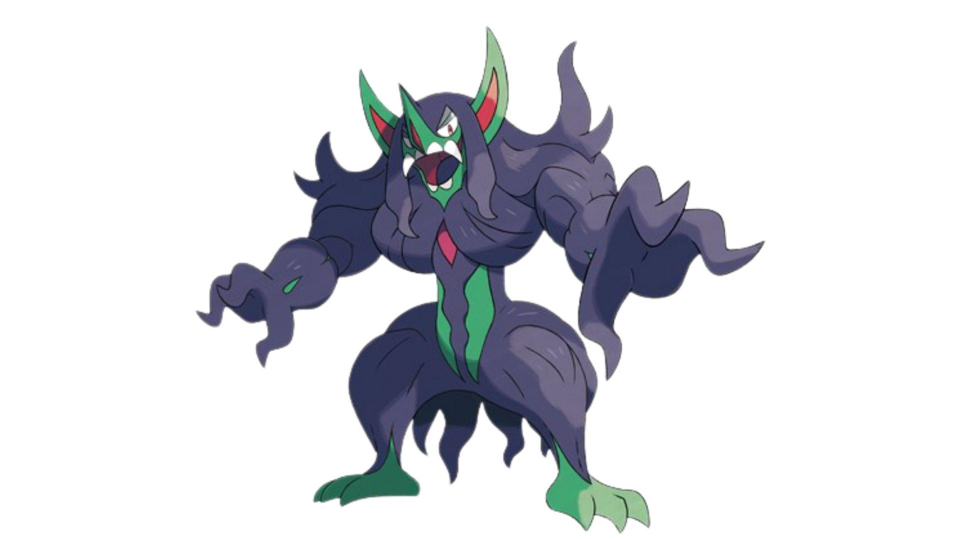 Grimmsnarl é um pokémon do tipo sombrio (Foto: Divulgação/Pokémon)