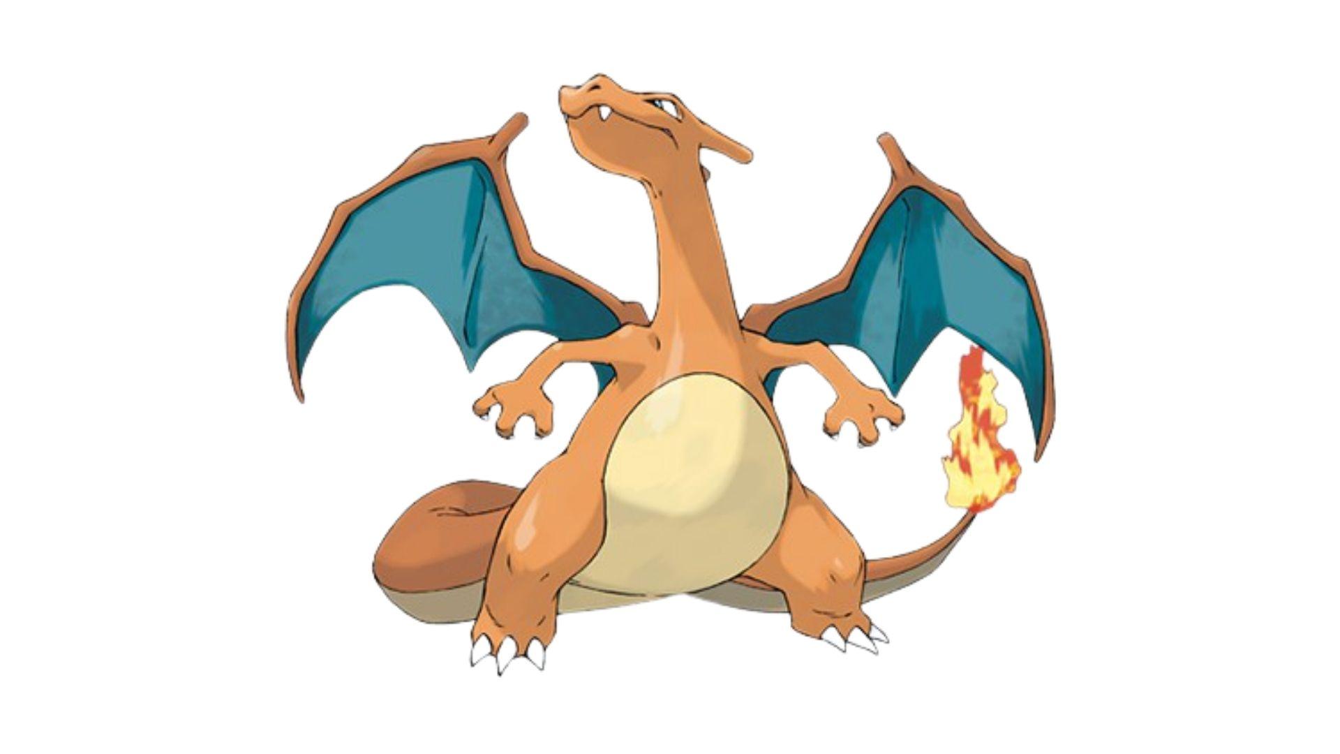 Charizard é um pokémon mias forte do tipo fogo e voador (Foto: Divulgação/Pokémon)