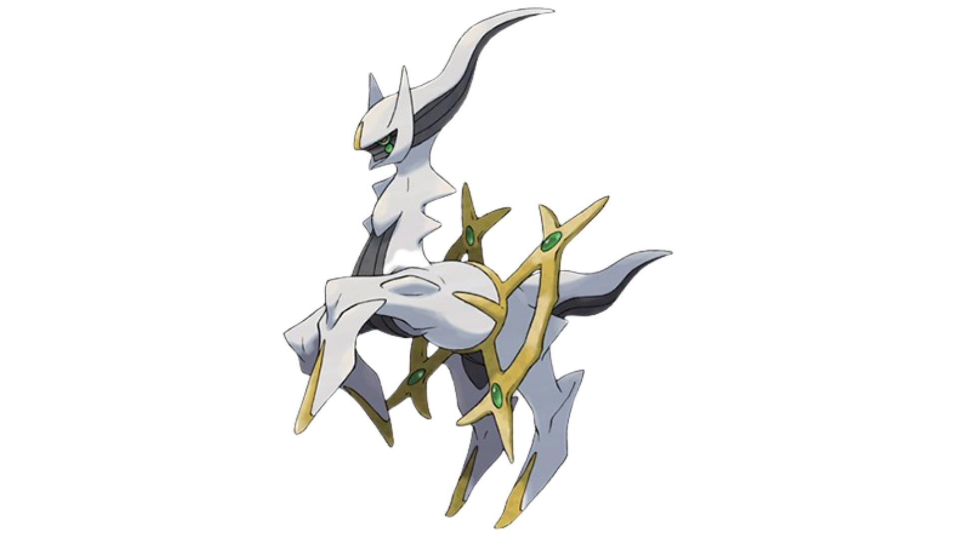 abilidades incomparáveis de Arceus fazem dele o pokémon mais forte de todos (Foto: Divulgação/Pokémon)