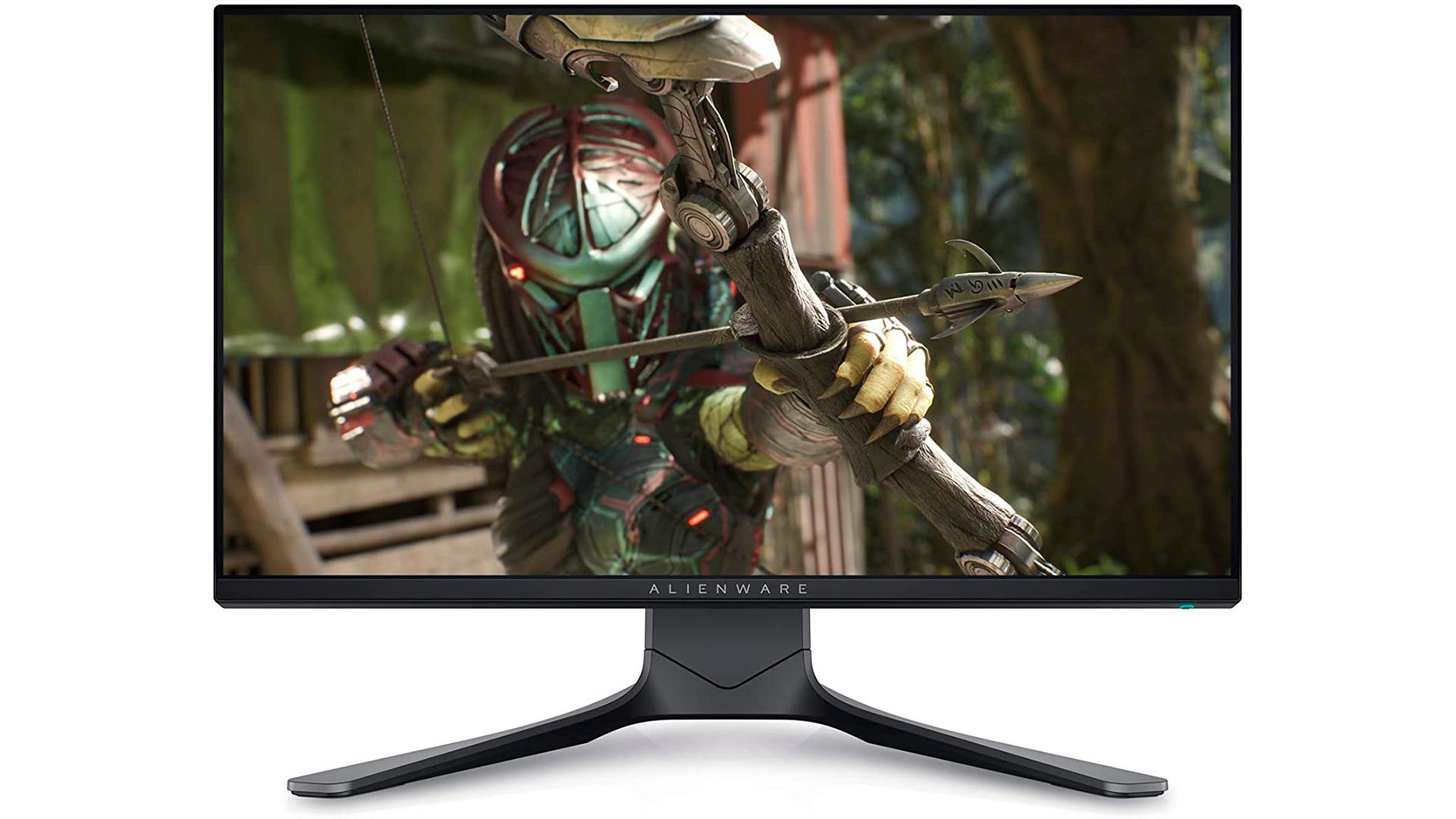 A Alienware também tem um modelo de monitor 360Hz (Foto: Divulgação/Alienware)
