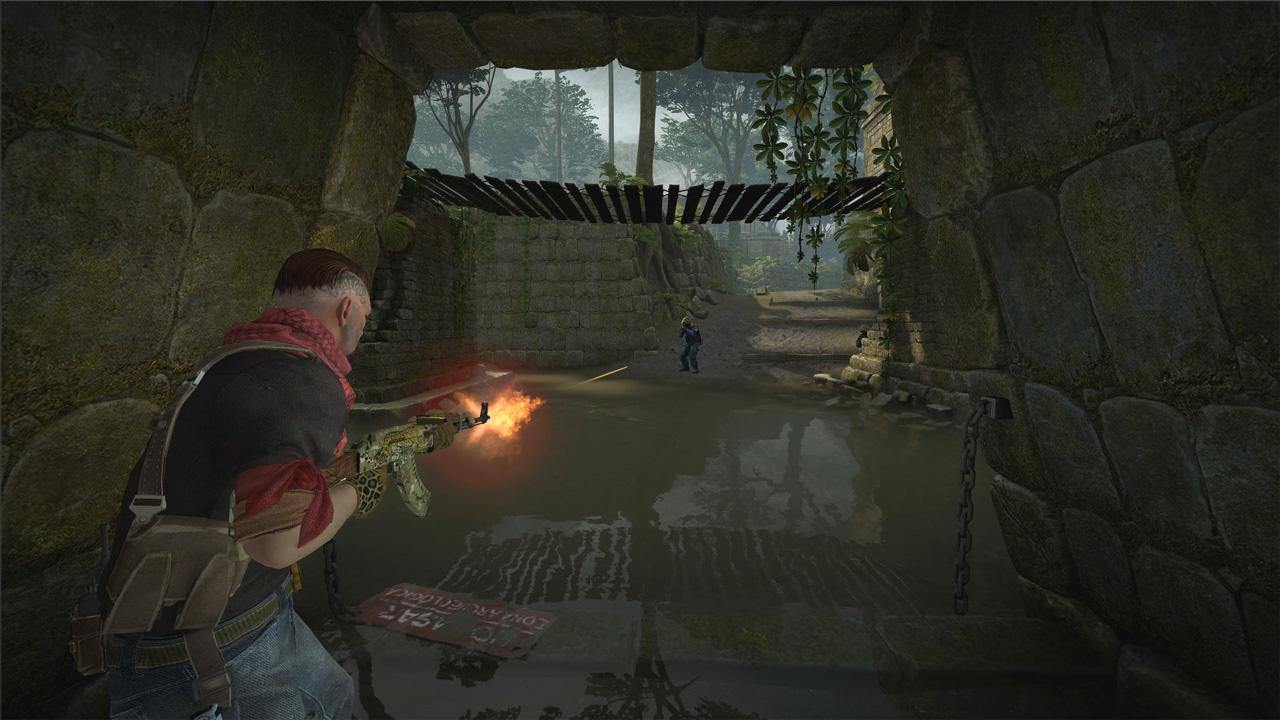 Games com requisitos mínimos mais modestos como Counter-Strike: Global Offensive podem rodar em configurações baixas na AMD Radeon RX Vega 8 (Reprodução: Steam)