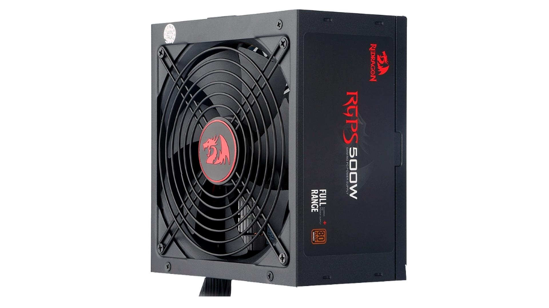Se você procura uma fonte para PC 500W, a Redragon GC PS001 é nossa dica (Foto: Divulgação/Redragon)