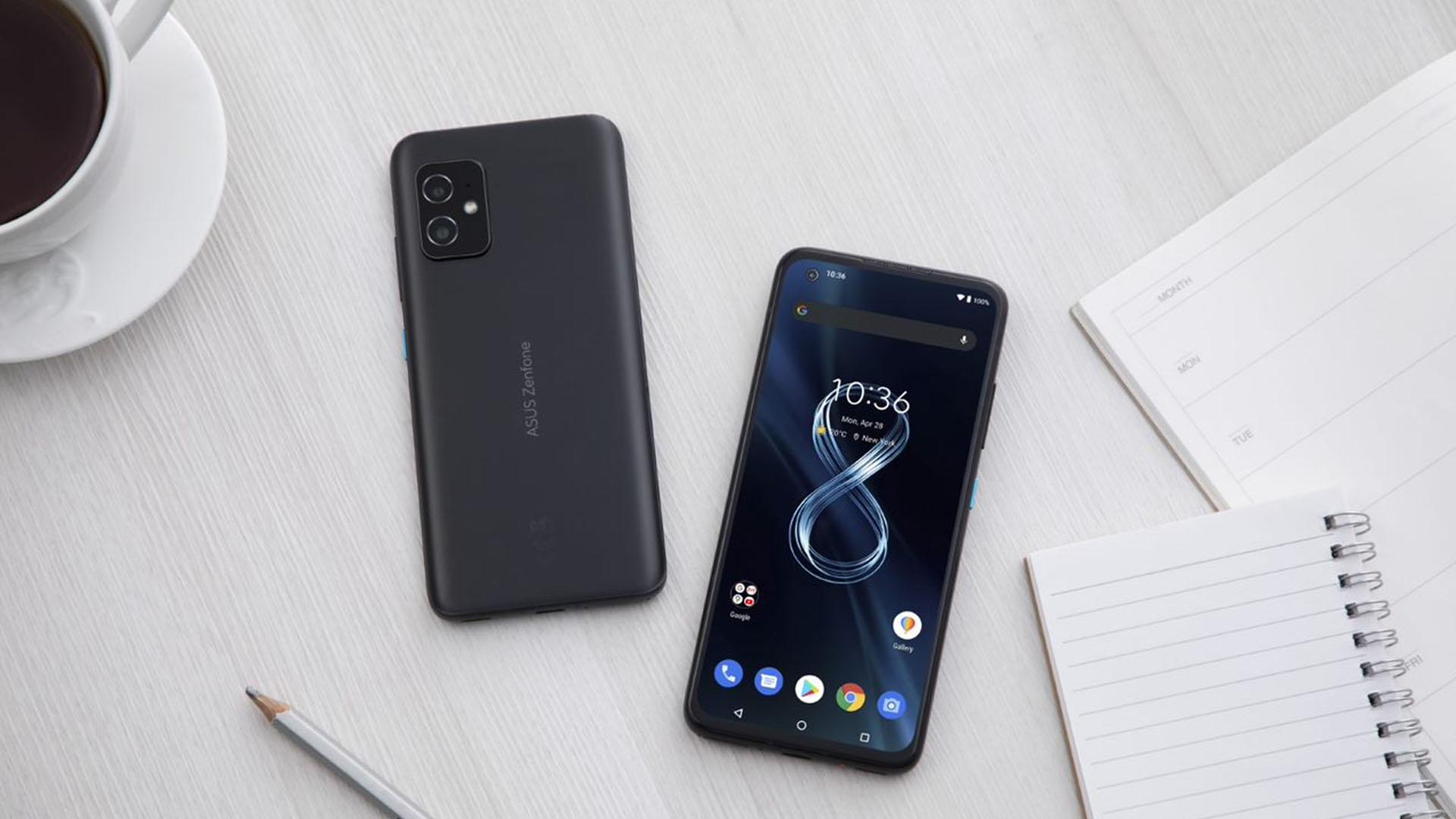 O Zenfone 8 tem câmera dupla. (Foto: Divulgação/Asus)