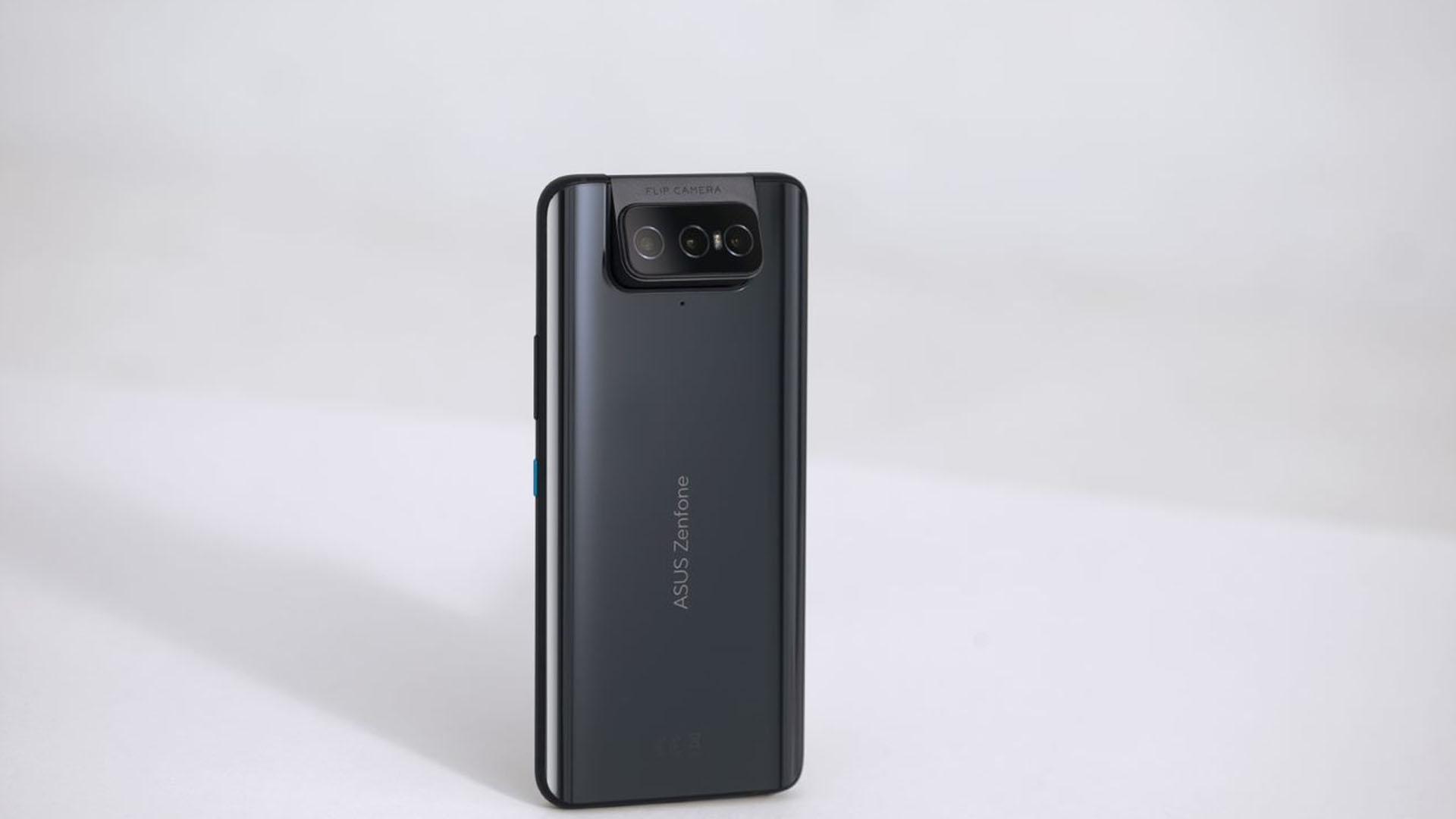 O sistema de câmeras giratórias foi mantido no Zenfone 8. (Foto: Divulgação/Asus)
