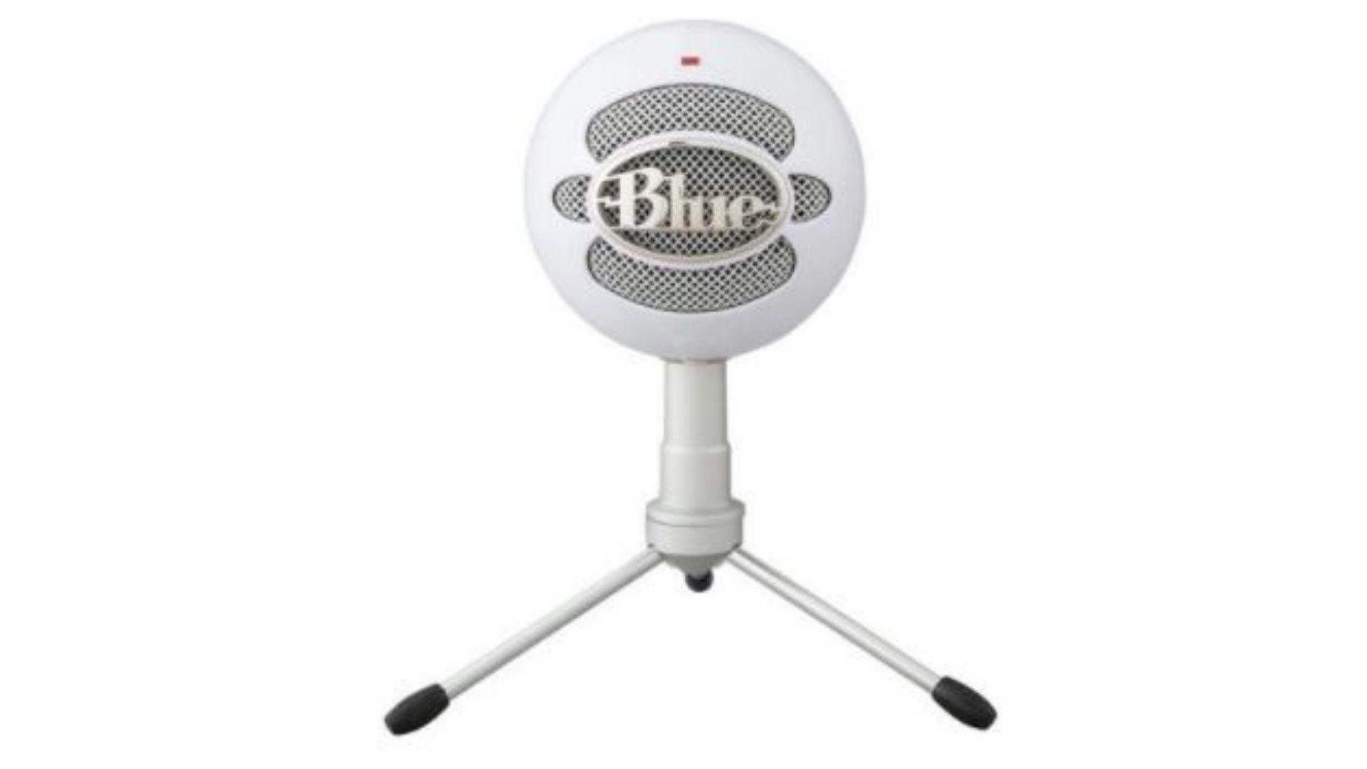Blue Snowball Ice é o mais barato na nossa lista de melhores microfones para PC em 2021 (Divulgação/ Blue)