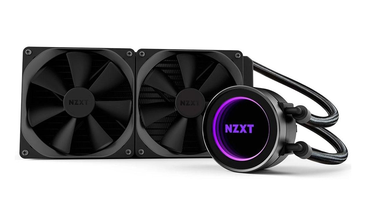 O Water Cooler RGB 280mm NZXT Kraken X63 Intel AMD AM4 Dual investe em um tipo único de ventoinha para reduzir ruído (Foto: Divulgação)