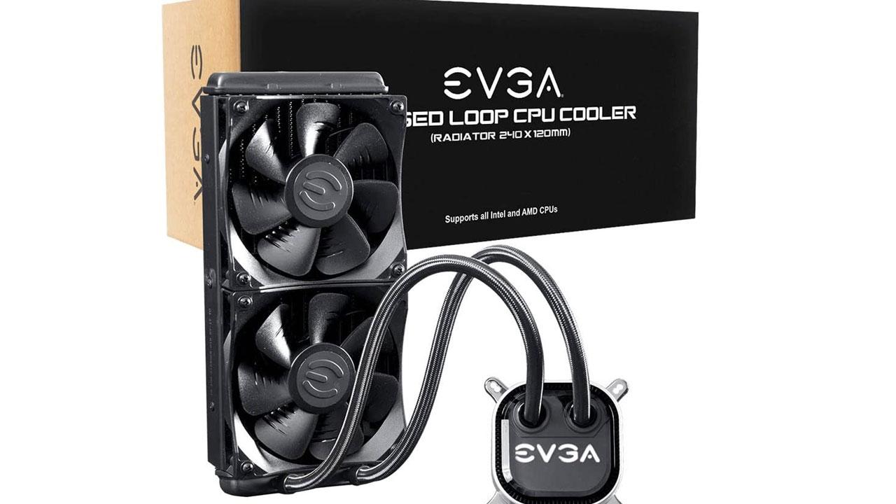 O Cooler de CPU Water CLC 240, EVGA, 400-HY-CL24-V1 apresenta boa tecnologia por um preço abaixo de outros Water Cooler no mercado (Foto: Divulgação)