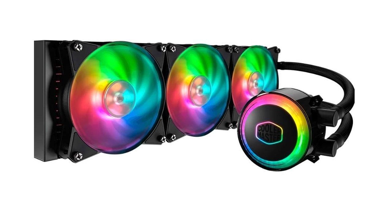O Water Cooler Cooler Master MasterLiquid ML360R - AMD Intel utiliza sua tecnologia de câmara dupla para alcançar ótimos resultados também em seu modelo maior (Foto: Divulgação)
