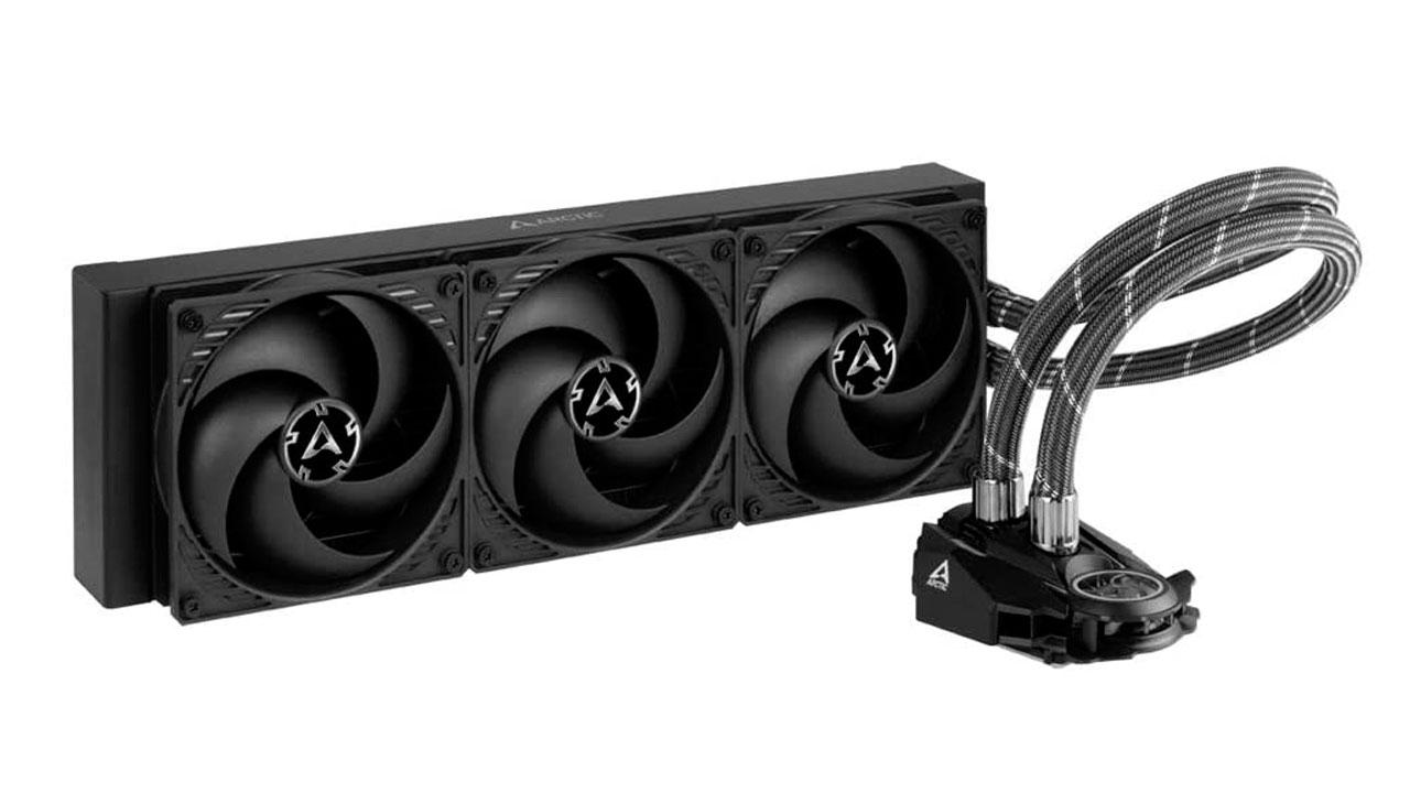 O ARCTIC Liquid Freezer II 360 – Cooler de água de CPU faz um ótimo trabalho de refrigerar seu PC com uma grande superfície e pouco ruído (Foto: Divulgação)