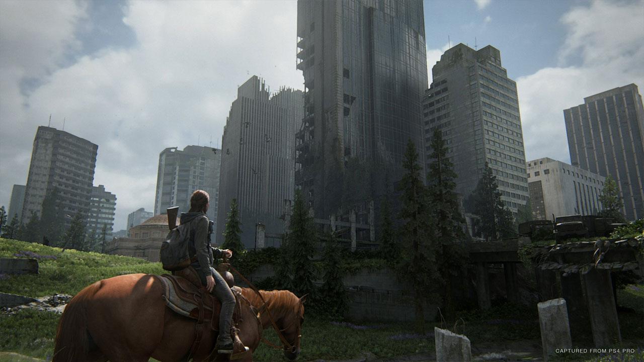 The Last of Us 2 traz de volta o mundo apocalíptico da série, mas foca-se na jornada por vingança de Ellie (Fonte: Divulgação/PlayStation)