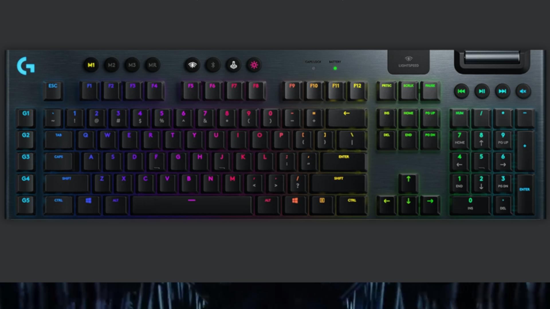 Teclado Mecânico Gamer Sem Fio Logitech G915 LIGHTSPEED é opção de teclado gamer Logitech sem fio (Foto: Divulgação/Logitech)